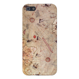 Piri Reis World Map iPhone 5 Case