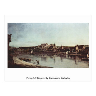 Pirna Of Kopitz By Bernardo Bellotto Postcard