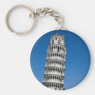 Pisa Basic Round Button Key Ring