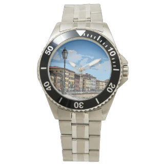 Pisa, Italy Painting effect Watch