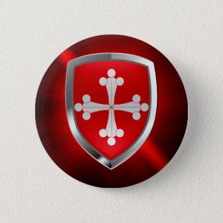Pisa Mettalic Emblem 6 Cm Round Badge
