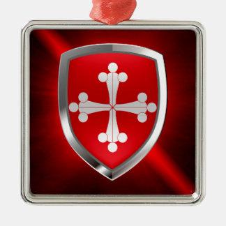 Pisa Mettalic Emblem Metal Ornament