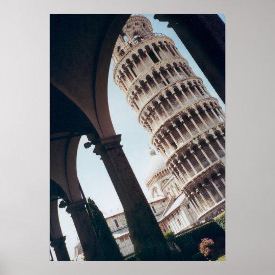 Pisa Perspective Poster