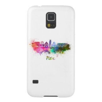 Pisa skyline in watercolor cases for galaxy s5