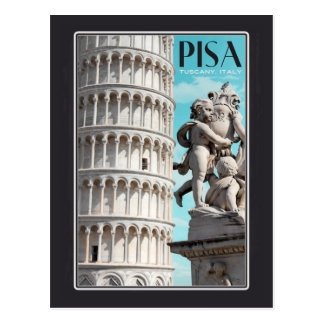 Pisa - The Leaning Tower Postcard