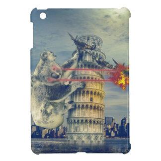 Pisa Tower Koala Bear Funny iPad Mini Cover