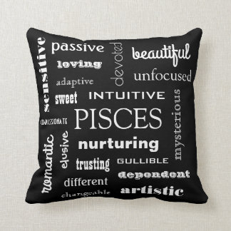 Pisces Astrological Cushion