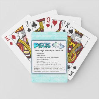 Pisces Astrological Horoscope Zodiac Cards