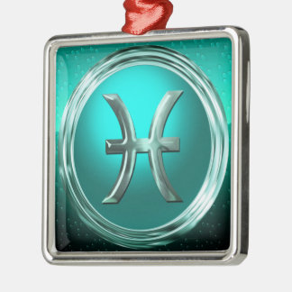 Pisces Astrological Sign Christmas Tree Ornament