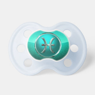 Pisces Astrological Sign Pacifier