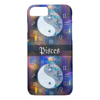 Pisces Astrological Space Yin Yang iPhone 8/7 Case