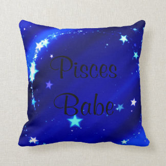 Pisces Babe Pillow Throw Cushions