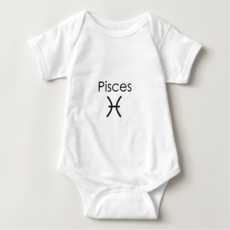 Pisces Baby Bodysuit