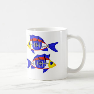 pisces basic white mug