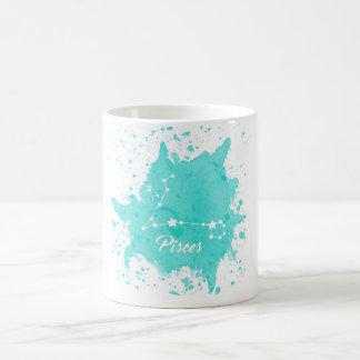 Pisces Blue Mug