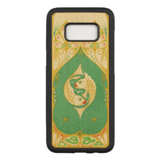 Pisces Carved Samsung Galaxy S8 Case