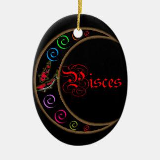 Pisces Ceramic Ornament