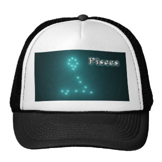 Pisces constellation cap
