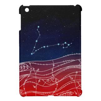 Pisces Constellation Design iPad Mini Case