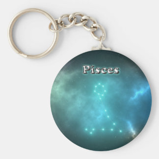 Pisces constellation key ring