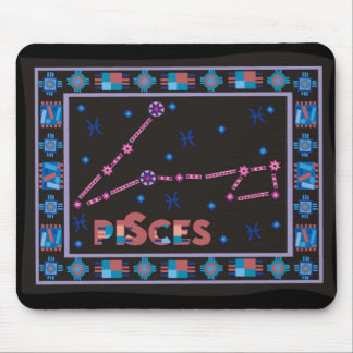 Pisces Constellation Mouse Pad