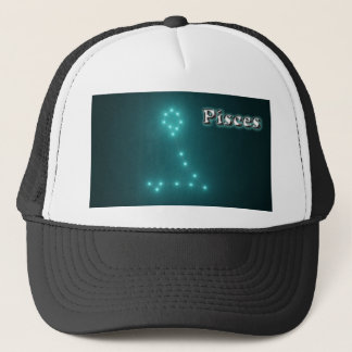 Pisces constellation trucker hat