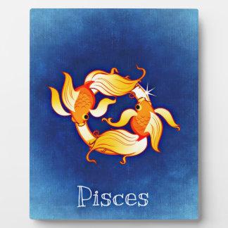 Pisces Display Plaques