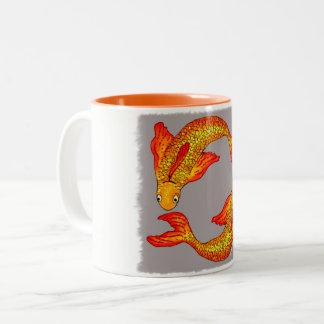 Pisces Fish Zodiac Art Mug