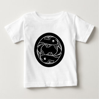 Pisces Fish Zodiac Astrology Sign Baby T-Shirt