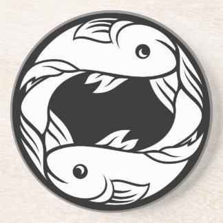 Pisces Fish Zodiac Horoscope Astrology Sign Coaster