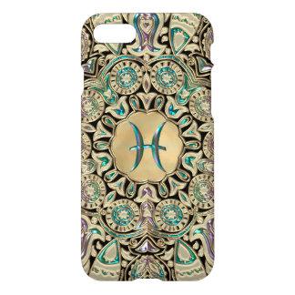 Pisces Gold Lace Mandala iPhone 8/7 Case