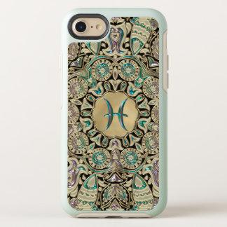 Pisces Gold Lace Mandala OtterBox Symmetry iPhone 8/7 Case