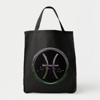 Pisces Grocery Tote Bag
