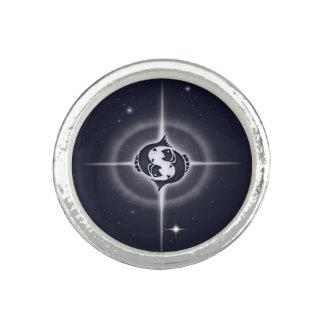 Pisces Horoscope Midnight Blue Ring