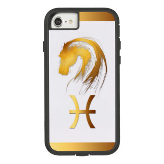 Pisces Horse Chinese and Western Astrology Case-Mate Tough Extreme iPhone 8/7 Case