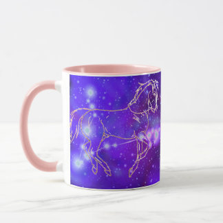 Pisces in the year of the Horse Mug