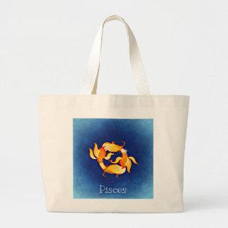 Pisces Jumbo Tote Bag