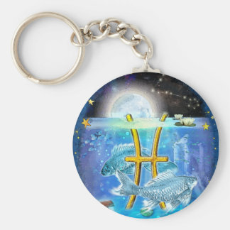 Pisces Key Ring