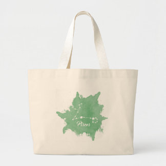 Pisces Large Tote Bag