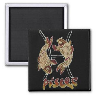pisces square magnet