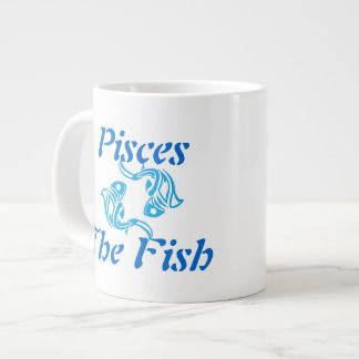 Pisces 20 Oz Large Ceramic Coffee Mug