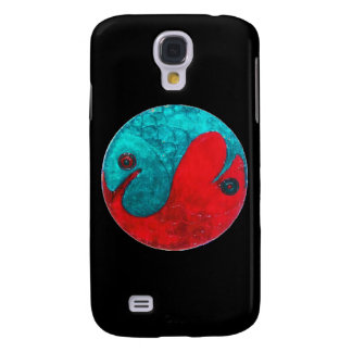 Pisces on Black Galaxy S4 Cover