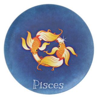 Pisces Party Plate