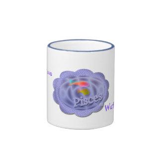 Pisces Ringer Mug