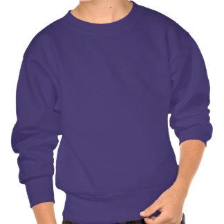 Pisces Skull Pull Over Sweatshirt