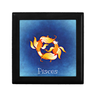 Pisces Small Square Gift Box