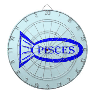 Pisces Star Sign Fish Dart Board