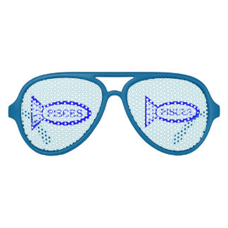 Pisces Star Sign Fish Party Shades