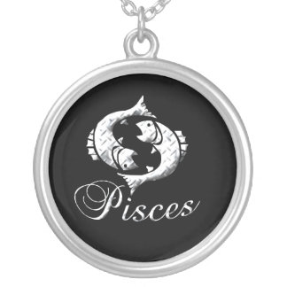 Pisces Sterling Silver Necklace