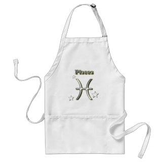 Pisces symbol standard apron